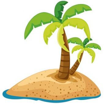 Texte pour anniversaire les les au sable chaud - Image palmier ...