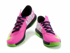chaussures-vert-rose