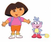 Dora l'exploratrice fête mon anniversaire