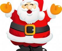 Apercevoir le père Noël