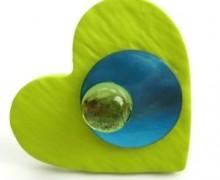 Un amour aux reflets bleu et vert