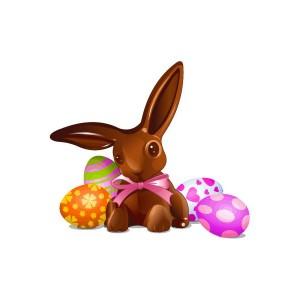 sticker-lapin-paques-chocolat