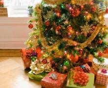Les cadeaux attendent sous le sapin